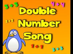 Double Number Zoo - Teach Addition of Double Numbers Doubles Song, Math Doubles, Doubles Facts, Teaching Numbers, Teaching Math, Teaching Aids, Kindergarten Math, Doubles Addition, Math Addition
