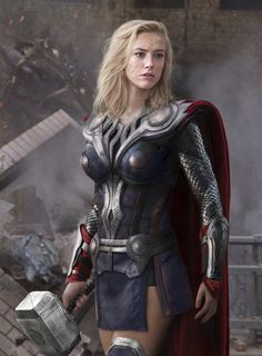 Funny pictures about Female Thor. Oh, and cool pics about Female Thor. Also, Female Thor photos. Marvel Cosplay, Lady Thor Cosplay, Batgirl Cosplay, Amazing Cosplay, Best Cosplay, Female Cosplay, Amber Heard, Costume Thor, Female Thor Costume