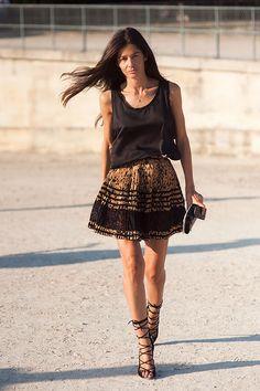 Mini skirt. Sexy & Chic