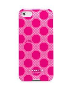 COACH Polka Dot iPhone 5 Case