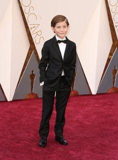 "Jacob Tremblay, protagonista de ""#Room"" en la alfombra roja de los #Oscars2016"