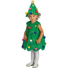 Check out Toddler Little Christmas Tree Costume - Infant/Toddler Christmas Halloween Costumes from Costume Super Center Christmas Baby, Christmas Fancy Dress, Little Christmas Trees, Diy Christmas Tree, Xmas Tree, Christmas Tree Costume Diy, Christmas Scenes, Merry Christmas, Xmas Costumes