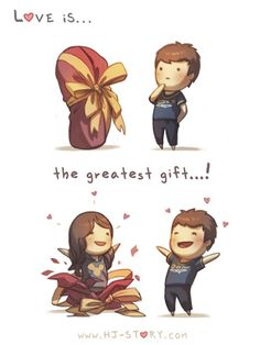 Love is a Gift   HJ Story
