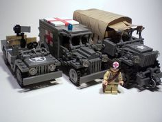 Lego military vechiles
