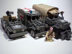 Lego military vechiles