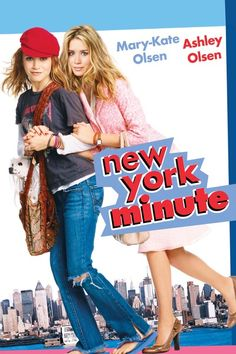 Rent New York Minute starring Mary-Kate Olsen and Ashley Olsen on DVD and Blu-ray. Get unlimited DVD Movies & TV Shows delivered to your door with no late fees, ever. One month free trial! Ashley Olsen, Ashley Mary Kate Olsen, Ryan Ashley, Teen Movies, Good Movies, Movie Tv, Girly Movies, 2020 Movies, Movies Free
