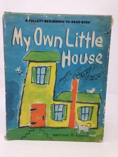 My Own Little House by Merriman B. Kaune - 1957 by CellarDeals on Etsy