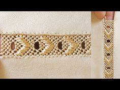 جديد الراندة المطروزة فكرة مبتكرة لعشاق الجلابة العصرية - YouTube Needle Lace, Cardigan Pattern, Blouse Designs, Sewing Patterns, Caftans, Embroidery, Crochet, Accessories, Jewelry