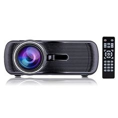 Any presentation and movie ... iRULU Portable Multimedia 1000 Lumens Mini LED Projector with VGA USB SD AV HDMI for Home Cinema Theater, Child Games Black - For All Offices Products Item Catalog (II)