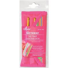 Getaway Soft Touch Crochet Hooks Gift Set-Sizes C-J | SongbirdCrafts - Knit & Crochet on ArtFire