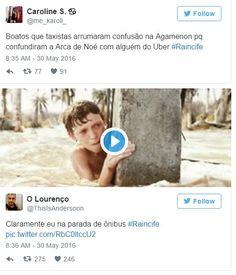 BOM HUMOR :) / Pernambucanos mostram humor no caos da chuva com hashtag #Raincife | +MMS