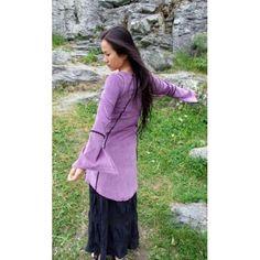 Light purple longsleeved dress Peplum, Ruffle Blouse, Light Purple, Fairy, How To Wear, Tops, Dresses, Women, Fashion