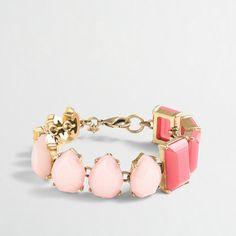 J.Crew Factory - Factory multi-stone bracelet
