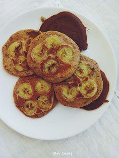 Eat Love: Eat Love - Panquecas de banana caramelizada!