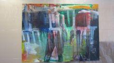 Thai Ho Pham, Bewusstes Scheitern, 2012, Ölmischtechnik auf Leinwand, 150 x 200 cm