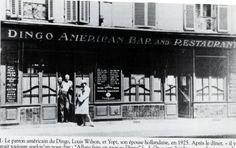 Le Dingo Bar, 14, rue Delambre (14e), au début du XXe siècle. Le lieu était fréquenté par Henry Miller, Ernest Hemingway ou encore F. Scott Fitzgerald. Photo : DR