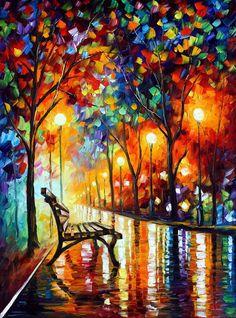 Pintura al óleo del paisaje del arte de la pared en lona de