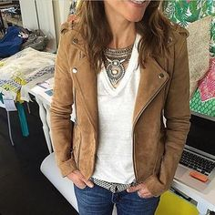 Host a trunk show, jewelry party or work from home as a Stella & Dot stylist! Shop our online collection of fashion jewelry, costume jewelry & accessories. Fall Outfits, Casual Outfits, Cute Outfits, Fashion Outfits, Women's Fashion, Stella Dot, Autumn Fashion Casual, Autumn Winter Fashion, College Fashion