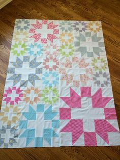 Stitchin with Peg: Star Plus Quilt Along