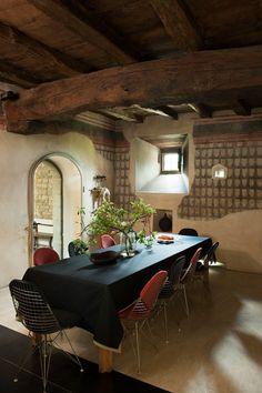 medieval homes rusticbathroom space garden rustic