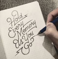 The handmade lettering of Dan Lee