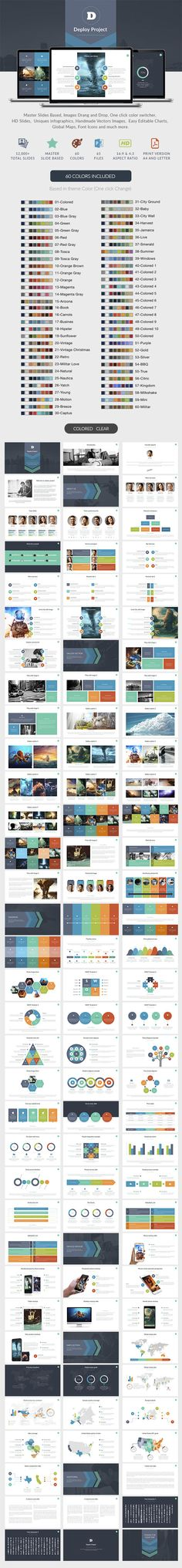 Deploy | Powerpoint Template #slides #design Download: http://graphicriver.net/item/deploy-powerpoint-template/11797056?ref=ksioks