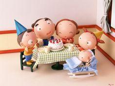The third series of happy family 45360 - Happy Family - Cartoon