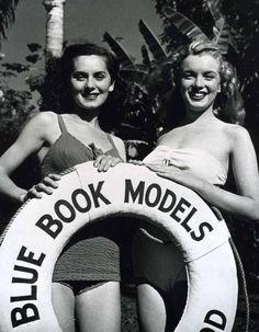 1946 Blue Book Model par Jasgur - Divine Marilyn Monroe