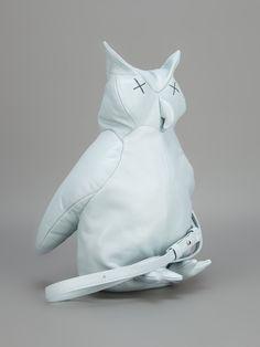 Christopher Raeburn Leather Owl Bag - Wok-Store - farfetch.com