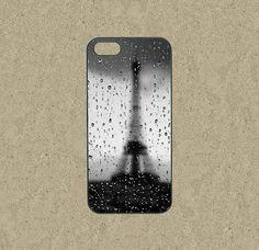 iphone 5c case,iphone 5c cases,iphone 5s case,cool iphone 5c case,iphone 5c,cute iphone 5s case,iphone 5 case-Eiffel rain drops,in plastic by Ministyle360, $14.99