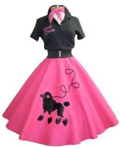 Do It Yourself Fashion in the 50s Poodle Skirts