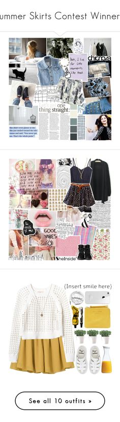 """Summer Skirts Contest Winners!"" by par0dise ❤ liked on Polyvore featuring Chicnova Fashion, Liberty Art Fabrics, Prada, Tokyo Fashion, Marc Jacobs, Hasbro, Marni, Oxford, NARS Cosmetics and Chanel"