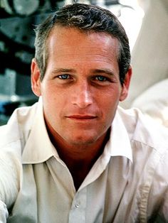 Paul Newman - beautiful blue eyes and so much integrity