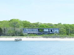 Raised above the dunes to take advantage of the view, the breezes and the lingering sunsets is ...
