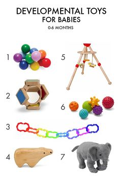 Pretty, well-designed developmental toys for babies age 0-6 months. | Mighty…