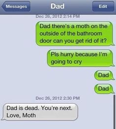 Love, Moth