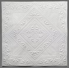 white whole cloth quilt
