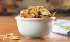 Cool Ranch Zucchini Chips - Like Low-Carb Doritos - Delish Ww Recipes, Low Carb Recipes, Cooking Recipes, Healthy Recipes, Recipies, Bariatric Recipes, Pureed Recipes, Pureed Food, Bariatric Eating