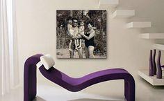 Il fascino delle fotografie in bianco e nero viene esaltato dalla stampa su canvas che ne accentua l'alone romantico sulla tela e le trasforma in oggetti eleganti e di tendenza, oltre che in affascinanti ricordi. www.gruppoantagora.it