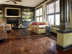 HomerWood Flooring is available at Zeeland Lumber & Supply. Installing Hardwood Floors, Multi Family Homes, Flooring Options, Living Spaces, Sweet Home, Architecture, House, Inspiration, Furniture