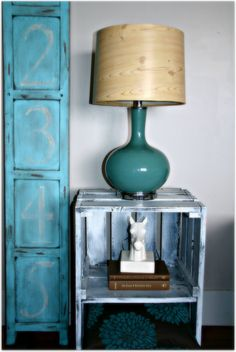 I have really become obsessed with natural wood lately. I just love the warmth and earthiness it can bring into a room. Paper Lampshade, Lamp Makeover, Contact Paper, Lamp Shades, Natural Wood, Table Lamp, This Or That Questions, Lighting, Room