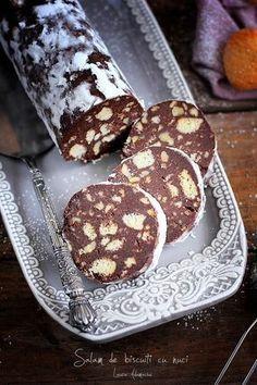 o lasam sa se raceasca minute sau pana No Cook Desserts, Sweets Recipes, Easy Desserts, Cookie Recipes, Oreo Dessert, Dessert Drinks, Romanian Desserts, Lithuanian Recipes, Cooking Cake