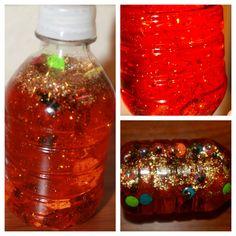 Mom to 2 Posh Lil Divas: Halloween Fun - Sensory BOO Bottles for Kids