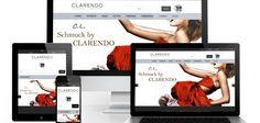Onlineshop Referenz - Clarendo Evo, Shops, Web Design, Search Engine Optimization, Weaving, Jewelery, Tents, Website Designs, Retail Stores