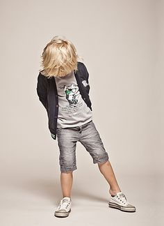 Love bermuda shorts on a little boy - stylish boys clothing