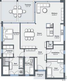 49 Besten Bungalows Bilder Auf Pinterest In 2019 House Floor Plans