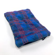 Sack Sack Classic: Royal Blue & Red Plaid Body Powder, Red Plaid, Getting Things Done, Royal Blue, Flannel, Routine, Old Things, Classic, Flannels