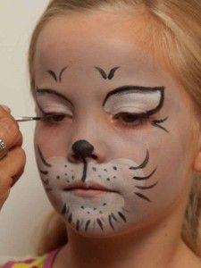 kinderschminken katze lippen schminken 2 schminken pinterest kinder schminken katze. Black Bedroom Furniture Sets. Home Design Ideas