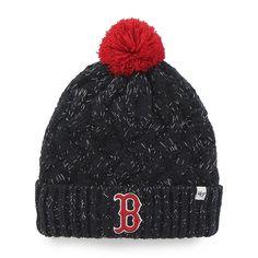 e3f74efa13b Boston Red Sox Women s 47 Brand Navy Fiona Cuff Knit Hat