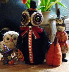 En güzel dekorasyon paylaşımları için Kadinika.com #kadinika #dekorasyon #decoration #woman #women Zipper Owl